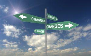 change cross-roads